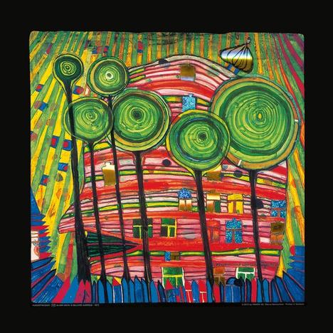 "Artprint ""Blobs grow in beloved gardens"""