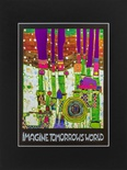 Mini Art Print with passe-partout IMAGINE