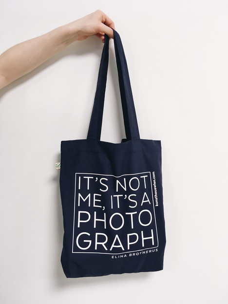 "Tasche ""It's not me it's a photograph"""