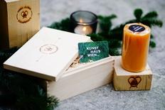 Jahreskarte + Kerze
