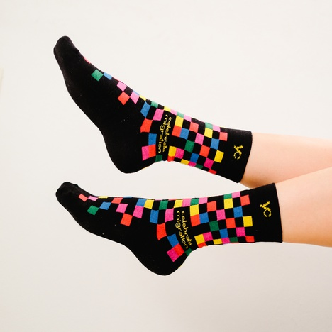 "Socks ""Celebrate Migration"""