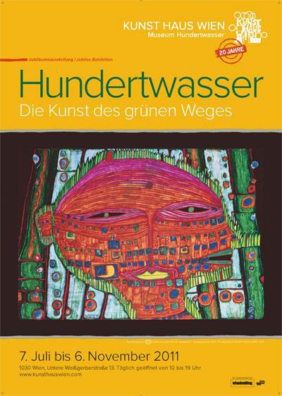 Hundertwasser Exhibition Poster