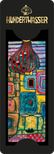 Set of 6 Hundertwasser-Bookmarks